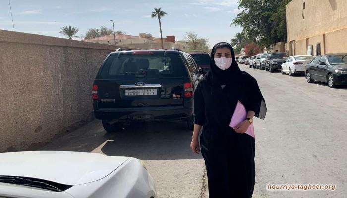 لجين الهذلول في طريقها للمحكمة للمطالبة بحقوقها