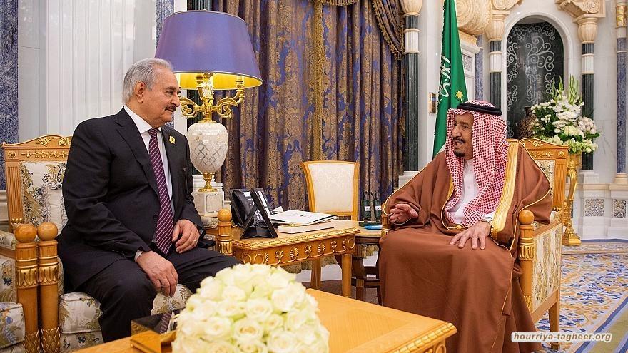 تورط سعودي اماراتي مصري باشعال الاوضاع في ليبيا