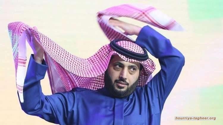 ديسكو وايت يطيح بتركي آل الشيخ