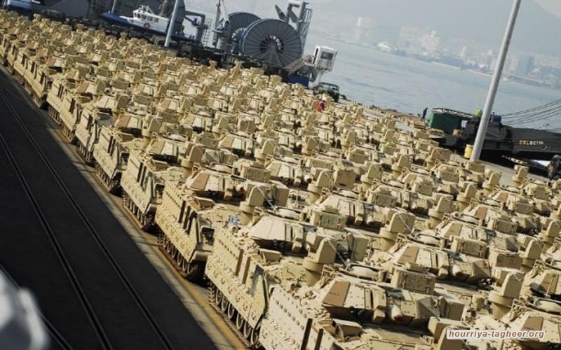 السعودية أكبر مشتر للأسلحة في العالم