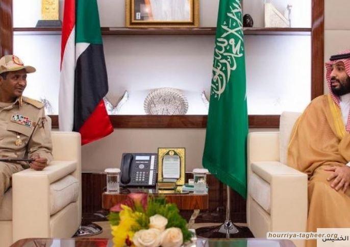 الرياض والقاهرة حرضتا على قمع الاعتصام في السودان