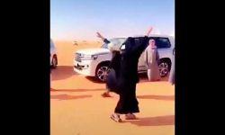 رقص رشا العبدالله في سوق الإبل يشعل الجدل في وسائل التواصل في السعودية
