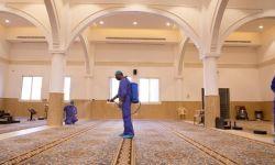 السعودية.. إغلاق 105 مساجد في 13 يوماً بسبب كورونا