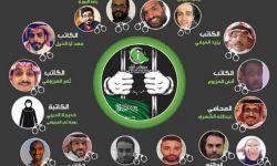 معتقلو حملة أبريل .. نشطاء كمّم أفواههم ابن سلمان
