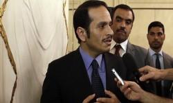 """وزير خارجية قطر يهاجم السعودية...ويوجه دعوة لـ""""الحلفاء الأجانب"""""""