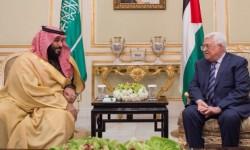 ابن سلمان حاول مجددا الضغط على عباس لدعم خطة ترامب