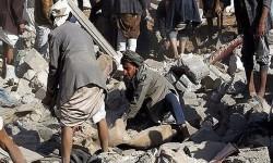 استشهاد وإصابة 19 يمنياً بينهم نساء وأطفال بقصف التحالف السعودي