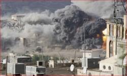 الطيران السعودي يبيد المدنيين في مصادر رزقهم بالحديدة