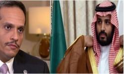 أول رد قطري رسمي على تصريحات محمد بن سلمان الأخيرة
