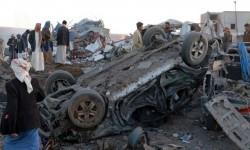 التحالف السعودي يشن 3 غارات على موكب زفاف ويقتل 10 نساء في اليمن