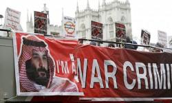 ''بي بي سي'': الاحتجاجات تستقبل ولي عهد السعودية في أول زيارة إلى بريطانيا