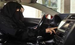 القبض على فتاة سعودية تقود سيارة