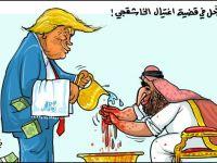 ترامب يسكب الماء على أيدي غلامه