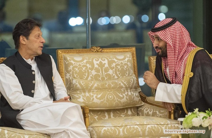 """قالت مجلة """"ناشيونال إنترست"""" الأمريكية إن نظام آل سعود يندفع نحو المصالحة مع باكستان؛ لمواجهة عزلته الدولية."""