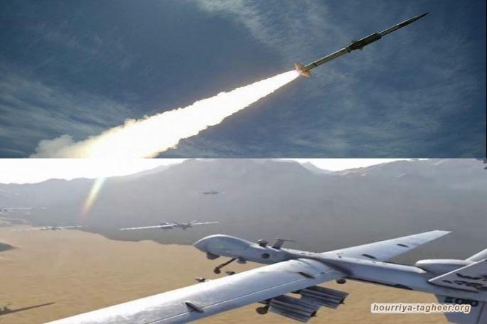 4 طائرات وصاروخان ضيافة الوفد الامريكي وفيصل بن فرحان.. عملية مشتركة في العمق السعودي على مطار نجران وقاعدة الملك خالد الجوية