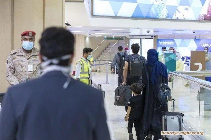 السلطات السعودية تحتجز ركاب طائرة تركية في مطار الملك خالد