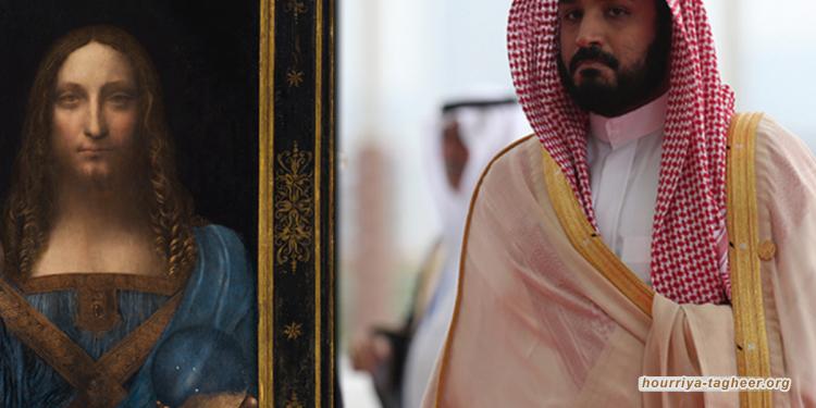 """مسؤول سعودي: بن سلمان شعر بإهانة فرنسية بسبب """"اللوحة المزيفة"""""""