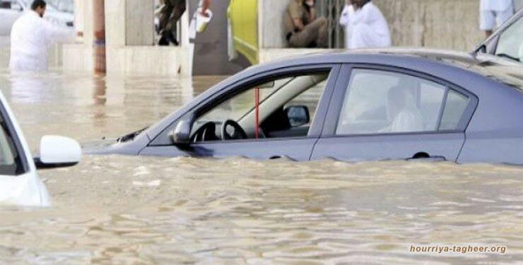 الأمطار تحول القصيم لبرك مائية وغضب لسوء البنية التحتية