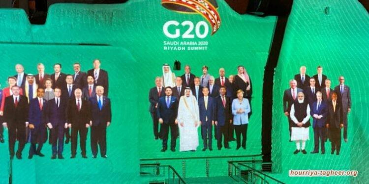 التجمع الوطني: الدول التي شاركت في قمة العشرين تجاهلت حقوق الإنسان