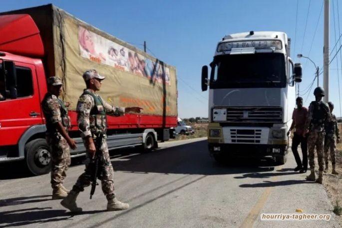 السعودية تمنع 400 شاحنة أردنية من دخول أراضيها بحجج واهية.. هل لباسم عوض الله علاقة بالقرار؟؟