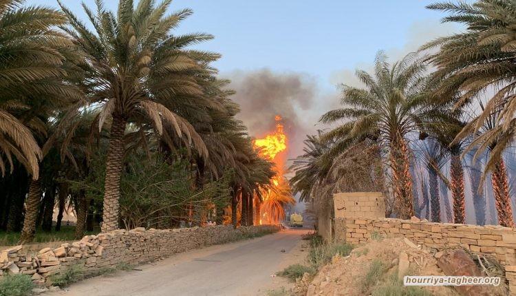 حريق مروع يتسبب في كارثة