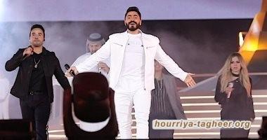 تامر حسني يسجل أكبر حضور جماهيري بحفله الثالث في السعودية