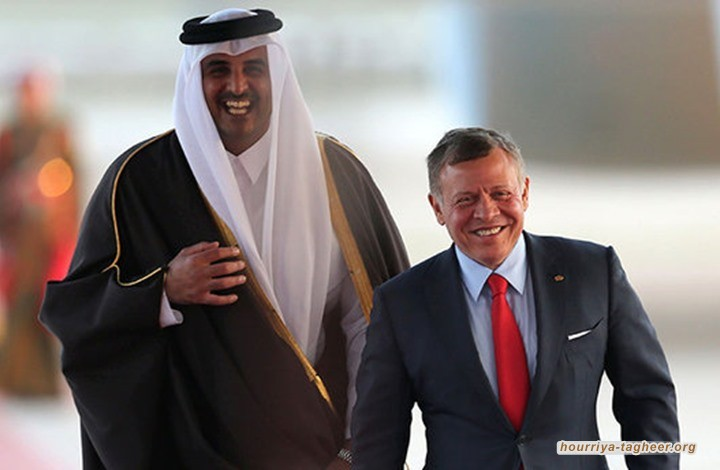 عبدالله الثاني يخرج من القطيع ويعيد علاقاته مع قطر