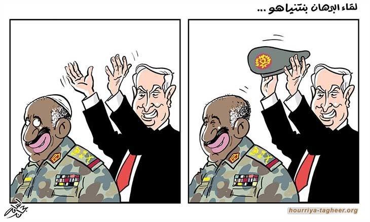 بيدق أخر من بيادق النظام العربي الرسمي... يتسكع على موائد الصهاينة