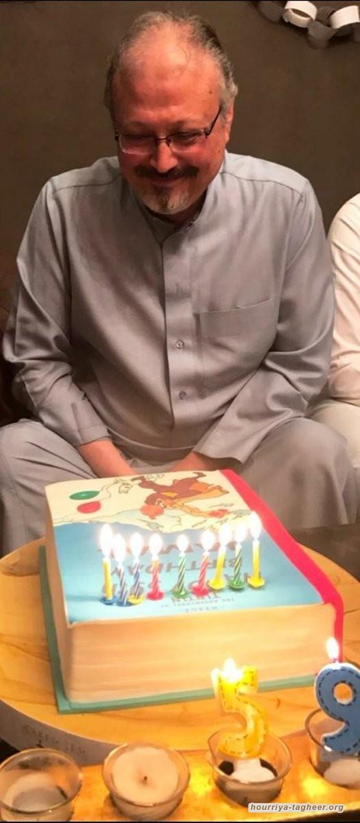 نجل خاشقجي يغرّد في ذكرى ميلاده.. وينشر هذه الصورة