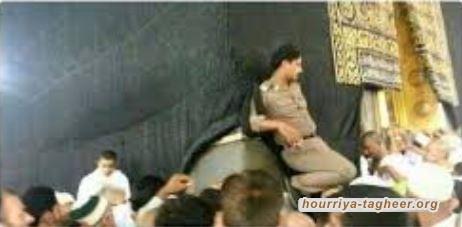 هتافات الداعشي التي استفزت الشرطة السعودية في الحرم المكي!!