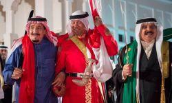 المرض يزداد على الملك السعودي و كلمته في القمة العربية الأوربية تفضحه