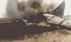 الغموض يلف مصير طاقم المقاتلة التابعة لآل سعود التي سقطت في اليمن.. وجريمته في المصلوب أضراراً جانبية!!