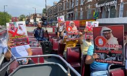 حافلات تجوب لندن تضامنا مع اليمن ومعتقلي آل سعود والإمارات