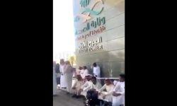 وقفة جريئة لخريجي الدبلومات الصحية بمملكة آل سعود للمطالبة بتوظيفهم.. هذا ما فعلوه أمام وزارة الصحة