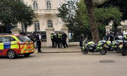 هجوم على مسكن السفير السعودي في لندن