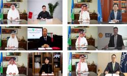 أرامكو توقع 6 مذكرات تفاهم صناعية مع شركات عالمية