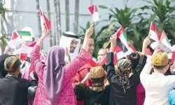 محمد بن زايد يزيح السعودية عن إندونيسيا