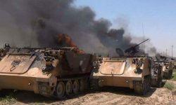 الحوثي يحرق 7 مدرعات في مجازة الغربية بعسير