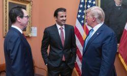 ابن سلمان مُغتاظ من زيارة أمير قطر لأمريكا