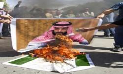 حرق صور بن سلمان في طرابلس معقل الحريري