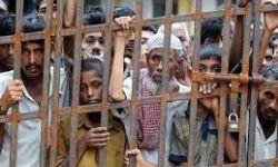 الرياض تعذب معتقلي الروهينجيا لإنهاء إضرابهم