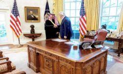 انتقادات للبيت الأبيض بعد تكتمه على اجتماع ترامب بخالد بن سلمان