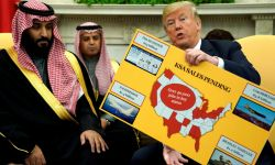 ترامب للمراسل: فلنأخذ أموال السعوديين فلنأخذ أموالهم قبل غيرنا