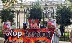 احتجاجات أمام السفارة السعودية بلندن للإفراج عن معتقلي الرأي