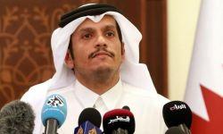 وزير خارجية قطر يتحدث عن الأزمة الخليجية.. ما الجديد؟