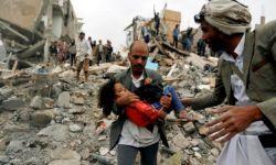 """""""حاضرنا كابوس"""": 100 يمني يتحدثون للعلن عن حرب آل سعود وأمريكا على اليمن"""