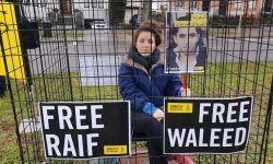 احتجاج غير مسبوق في بروكسل ضد انتهاكات آل سعود